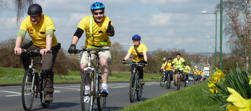 The inaugural 2011 Ride for Research