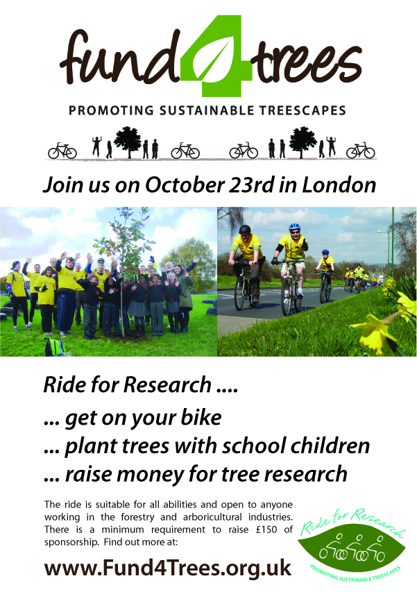 Ride for Research London. Download as a pdf poster and display prominently.