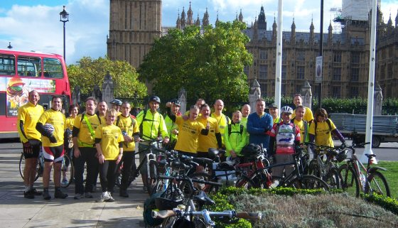 Ride for Research - London 2013