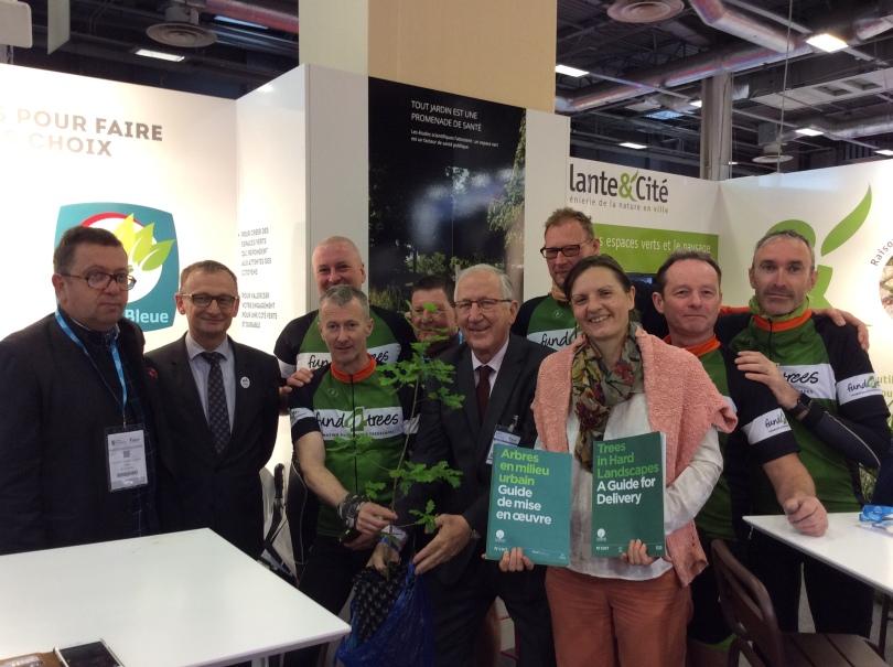 Fund4Trees - London to Paris 2016