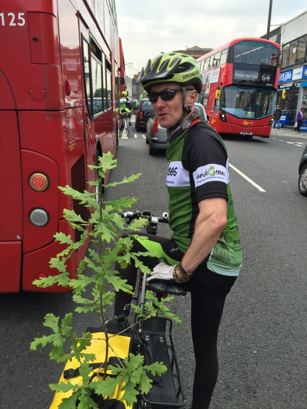 Fund4Trees - London to Paris 2016